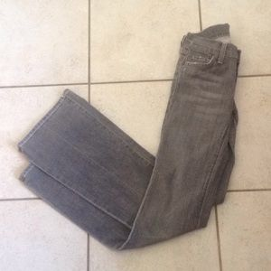 7 For All Mankind Jeans - 7 for all mankind Grey Wash Jeans sz 24